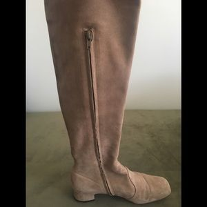 L'Autre Chose Square Toe Over the Knee Boot